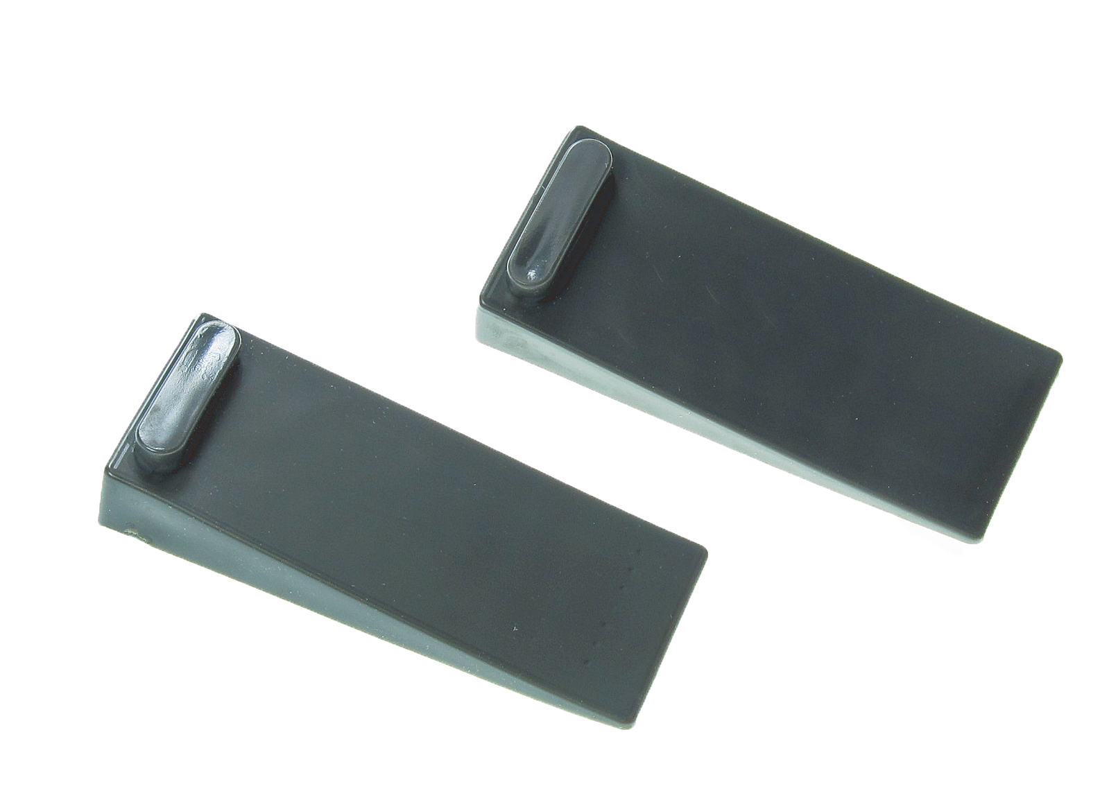 2 x black thick rubber door stop stopper wedge jam jammer stoppers sydney ebay - Door stoppers rubber ...